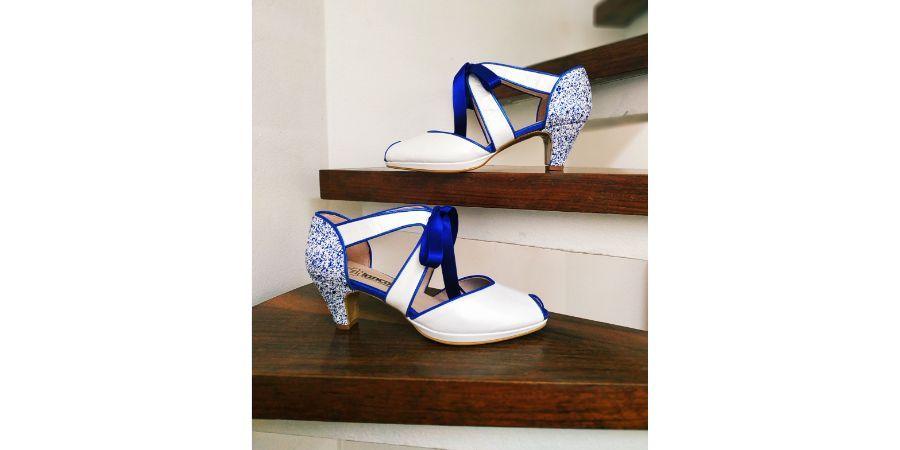 Zapatos de tacón bajo cómodos