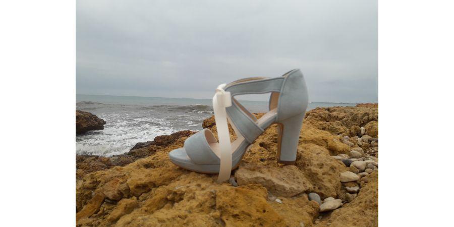 Zapatos de tacón medio