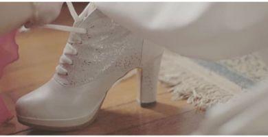 Botines de novia
