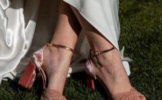 Zapatos de novia rosa