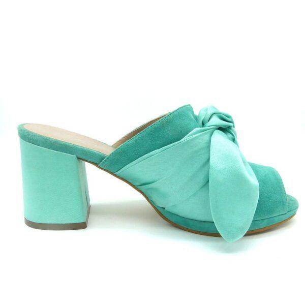 sandalia esmeralda