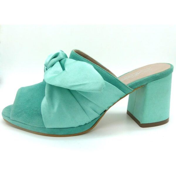 sandalia verde